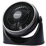 VOXON Tisch-/Wand-Ventilator Tischventilatoren Kraftvoller und geräuscharmer Turbo-Ventilator
