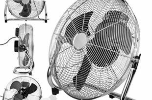 interior exclusive o 40cm bodenventilator chrome silber besonders leise und stabile windmaschine integrierter thermoschutz schwenkfunktion stufenlos 0 90 3 geschwindigkeiten 100w 310x205 - INTERIOR EXCLUSIVE ø 40cm Bodenventilator Chrome/Silber | besonders leise und stabile Windmaschine | Integrierter Thermoschutz | Schwenkfunktion stufenlos 0-90° | 3 Geschwindigkeiten | 100W