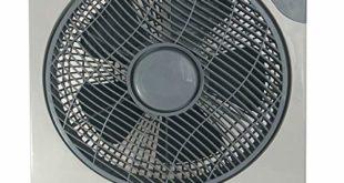 51b+zzXMKsL 310x165 - Ventilator Box Bodenventilator 30cm, 3 Geschwindigkeitsstufen, Timer, Oszillierend, 50 Watt, leicht zu transportieren, Lautstärke max. 52dB, Hervorragend geeignet für Büro oder Wohnräume silber/grau