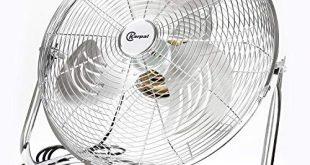 BMOT 120 Wattboden ventilator Bodenventilator im Chrom Design,50 cm Durchmesser 310x165 - BMOT 120 Wattboden ventilator Bodenventilator im Chrom Design,50 cm Durchmesser, 4 Laufgeschwindigkeiten,hoher Luftdurchsatz, Tragegriff,Neigungswinkel verstellbar