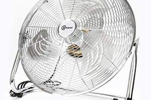 BMOT 120 Wattboden ventilator Bodenventilator im Chrom Design,50 cm Durchmesser 310x205 - BMOT 120 Wattboden ventilator Bodenventilator im Chrom Design,50 cm Durchmesser, 4 Laufgeschwindigkeiten,hoher Luftdurchsatz, Tragegriff,Neigungswinkel verstellbar